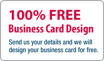100% FREE Business Card Design