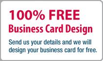 100% FREE Business Card Design