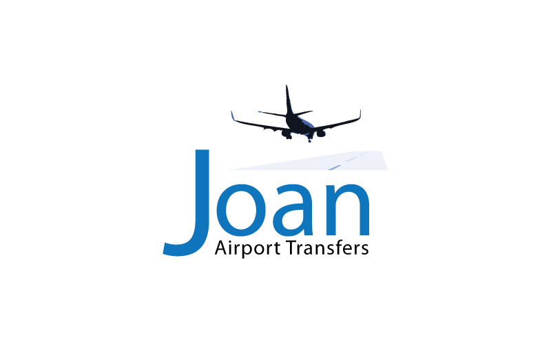 Airport Transfers Logo Design