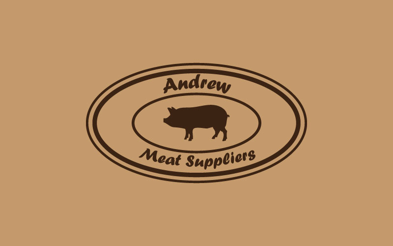 Meat Suppliers Logo Design