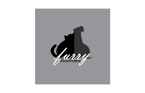 Dog & Cat Grooming Logo Design