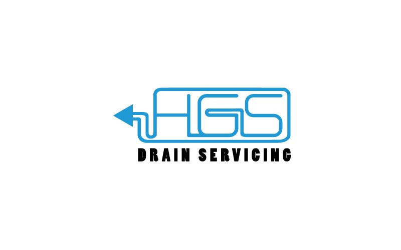 Blocked Drains Logo Design