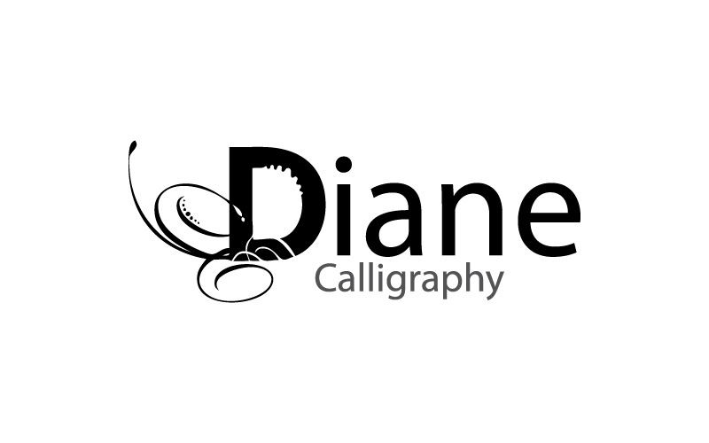 Calligraphy logo design
