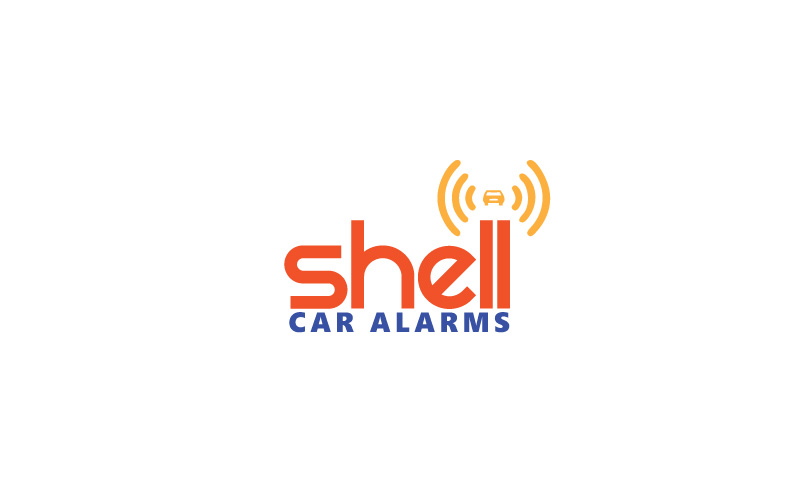 Car Alarms Logo Design