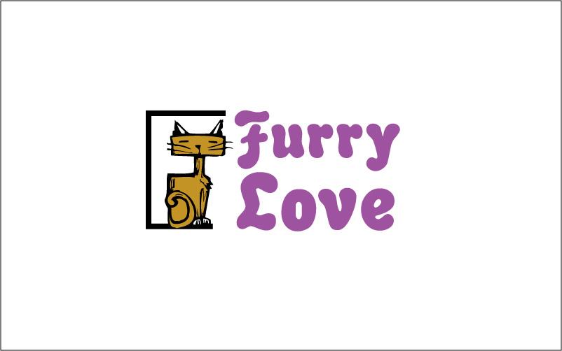 Cat Grooming Logo Design