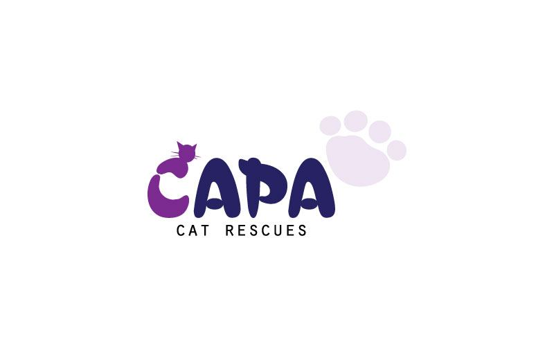 Cat Rescues Logo Design