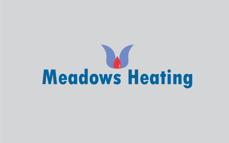 Central Heating Equipment Logo Design