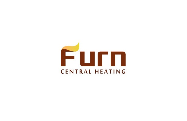 Central Heating Installation Logo Design