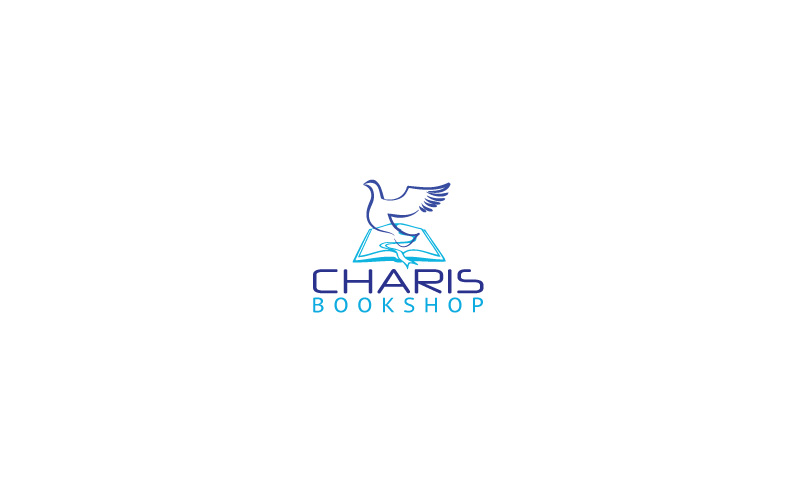 Christian Bookshop Logo Design