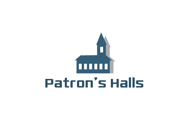 Church Halls Logo Design
