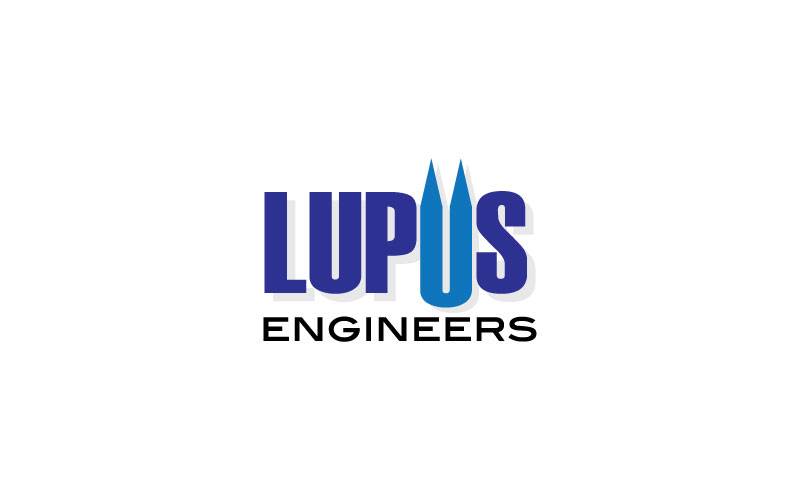 logos for Canning Engineers u0026 Lupus Engineers, the civil engineers ...
