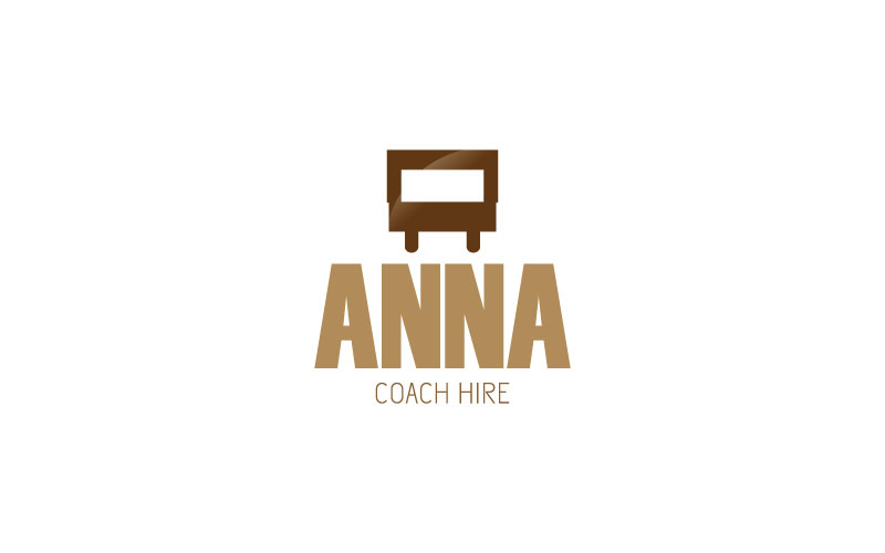 Coach Hire Logo Design