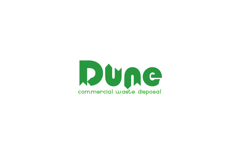 Commercial Waste Disposal Logo Design