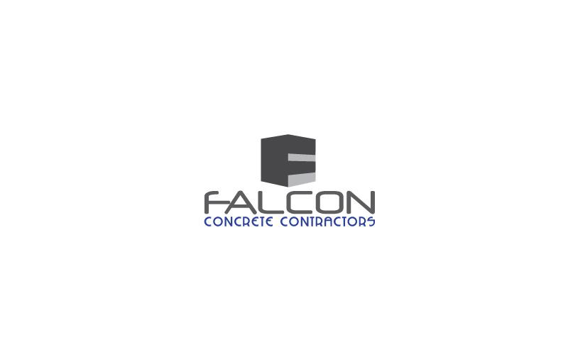 Concrete Contractors Logo Design
