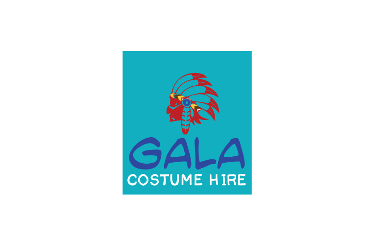 Costume Hire Logo Design
