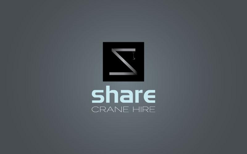 Crane Hire Logo Design