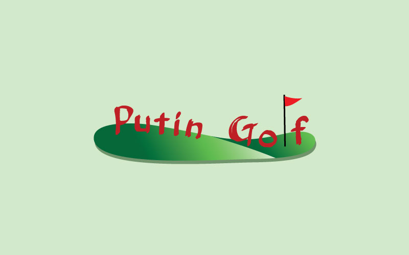 Crazy Golf Logo Design