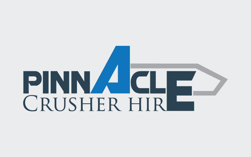 Crusher Hire Logo Design