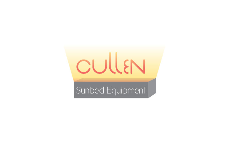 Sunbed Equipment Logo Design