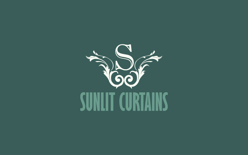 Curtains Logo Design