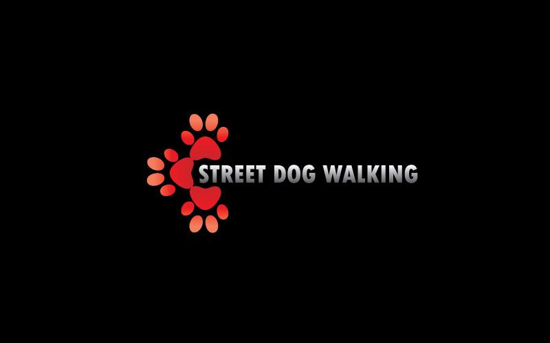 Dog Walking Services Logo Design