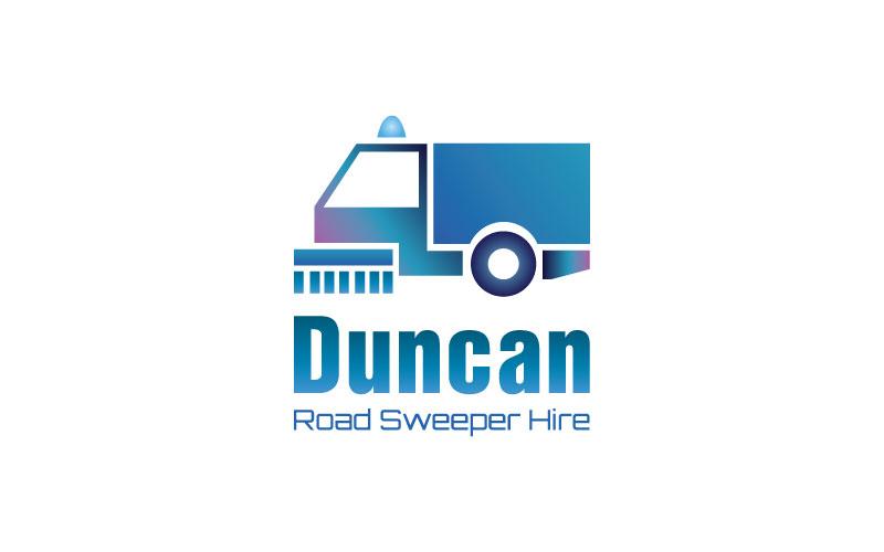 Road Sweeper Hire Logo Design