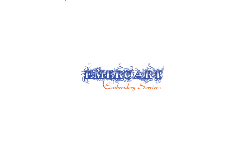 Embroidery Services Logo Design