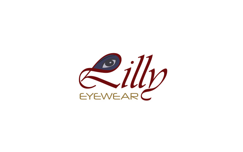 eyewear logo design