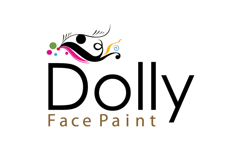Face Paint Make-up Logo Design