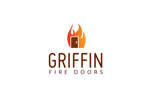 Fire Doors Logo Design