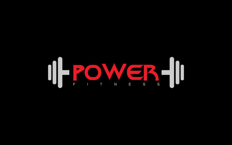 Women Fitness Fitness Equipment Logo Design
