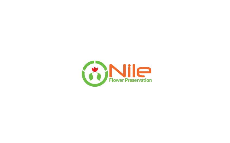 Flower Preservation Logo Design