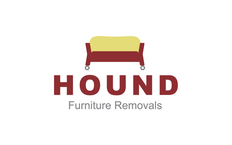 Furniture removals logo design for Furniture removal