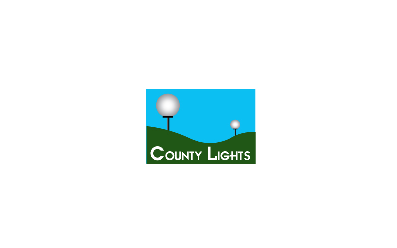Garden Lighting Design Logo Design