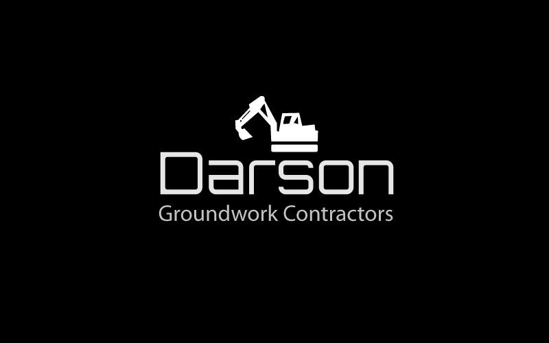 Groundwork Contractors Logo Design