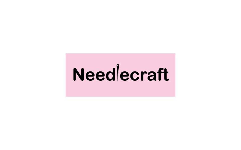 Haberdashery And Needlecraft Supplies Logo Design