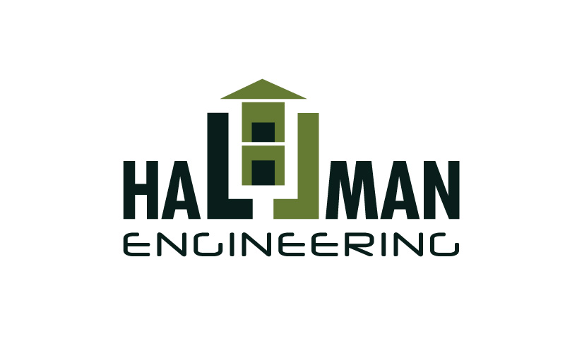 Building services engineering logo design for Building services design