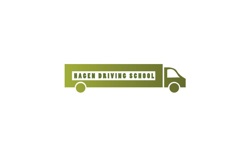 Hgv Driving Schools Logo Design
