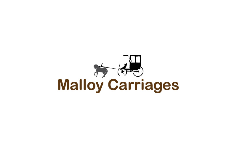 Horse Drawn Carriages Logo Design