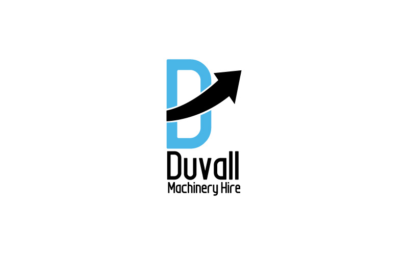 Machinery Hire Logo Design