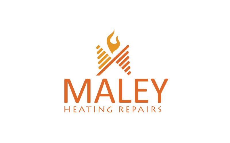 Central Heating Radiators Logo Design