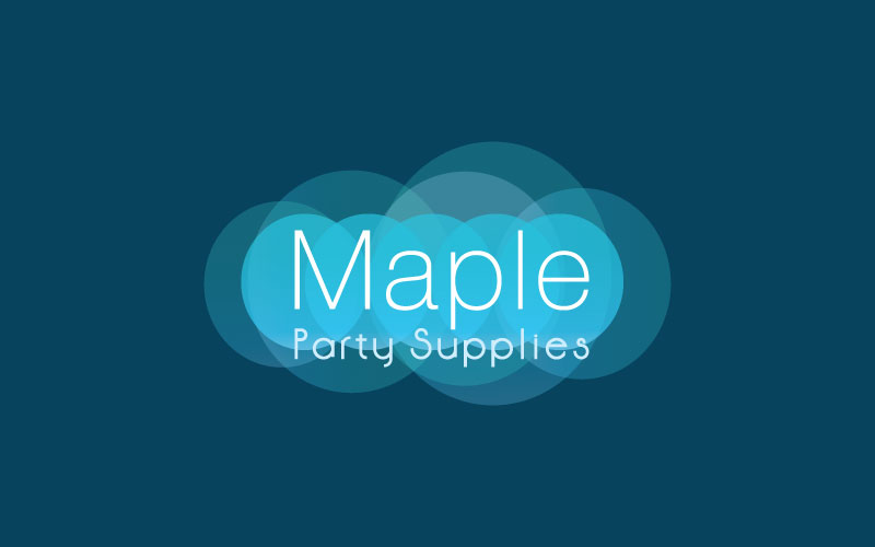 Party Supplies Logo Design