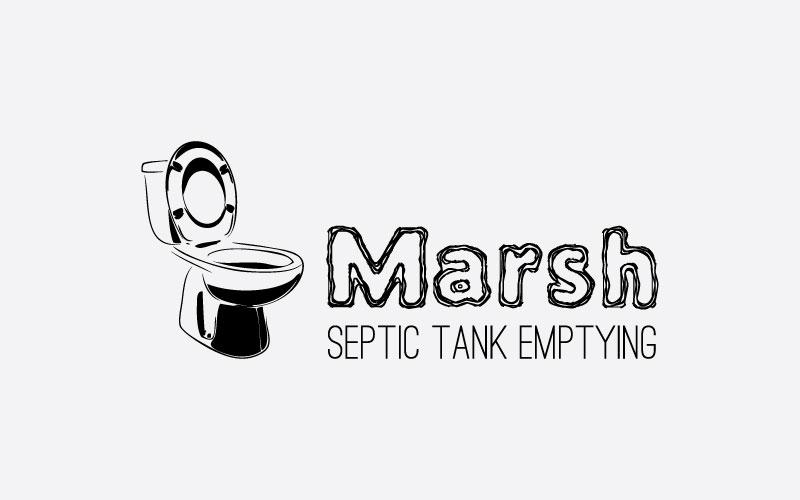 Septic Tank Emptying Logo Design