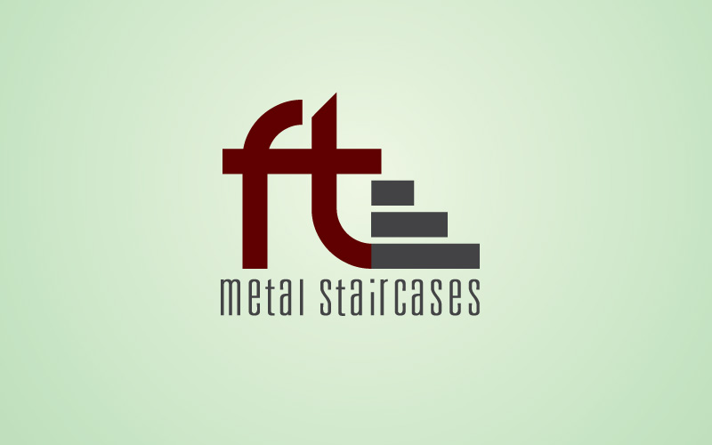 Metal Staircases Logo Design