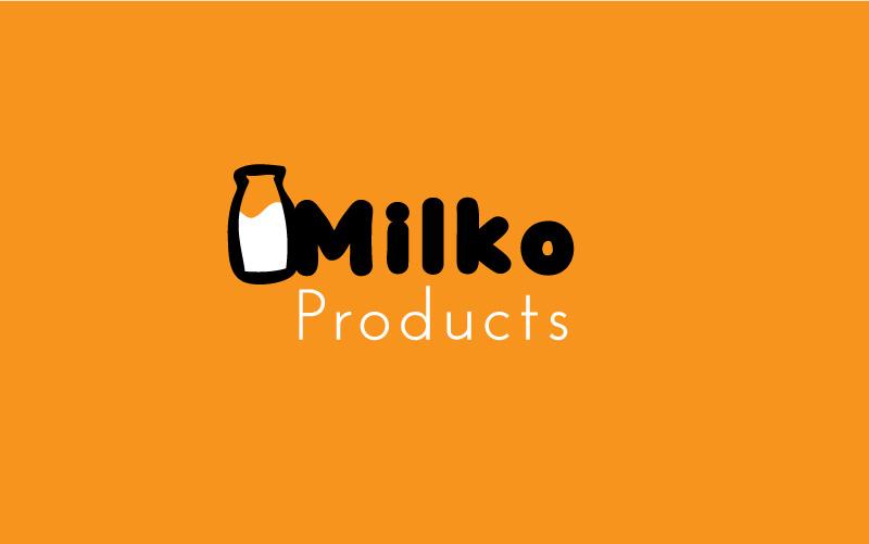 Milkman Logo Design