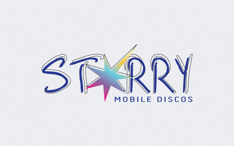 Mobile Discos Logo Design