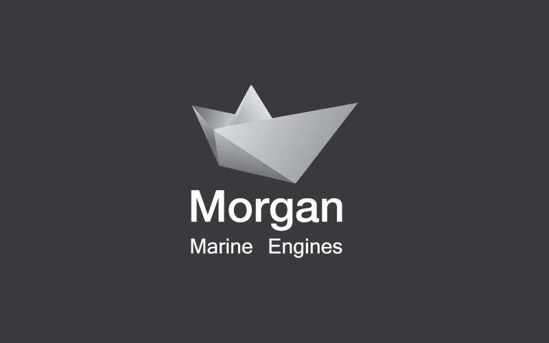 Marine Engines Logo Design