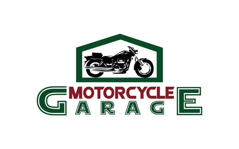 Motorcycle Services Logo Design