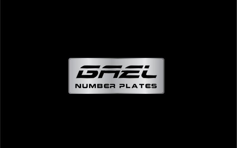 Number Plates Logo Design