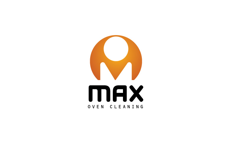 Oven Cleaning Logo Design